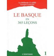 Le basque en 365 leçons